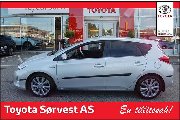 Toyota Auris 1,8 Hybrid E-CVT Executive  2013, 22000 km, kr 239000,-