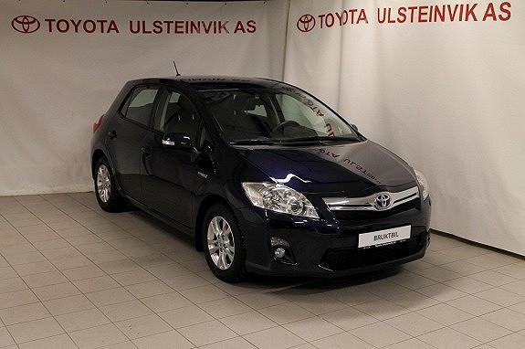 Toyota Auris 1,8 Hybrid Advance HSD  2012, 27000 km, kr 175000,-