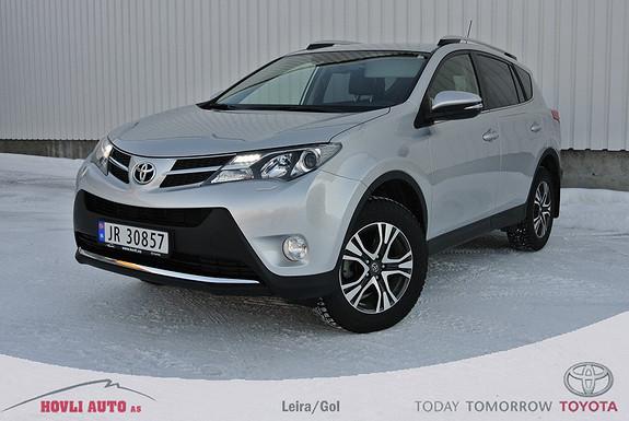 Toyota RAV4 2,2 D-4D 4WD Executive skinn. Servicehefte, Pen bil. Garanti!  2014, 47000 km, kr 379000,-