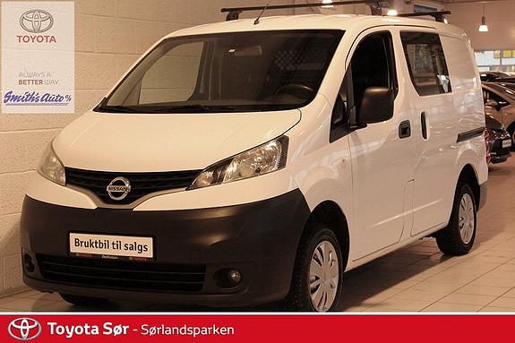 Nissan NV200 1,5 dCi 85hk Comfort INNBYTTEGARANTI 20 000,-  2011, 72000 km, kr 99000,-