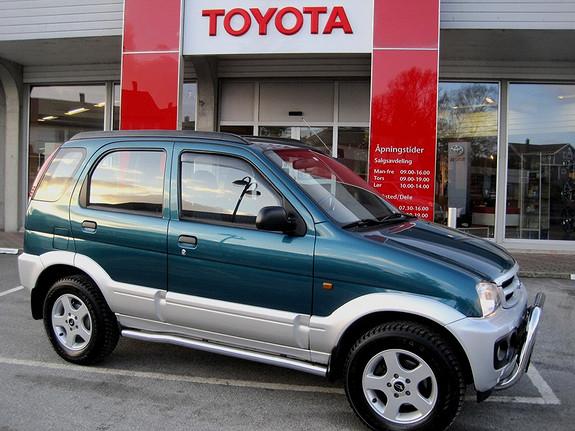 Daihatsu Terios 1,3 SX m/hengerfeste  2005, 97957 km, kr 69000,-