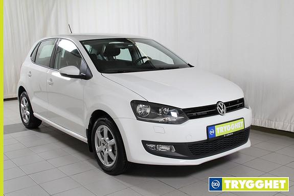 Volkswagen Polo 1,2 90hk TSI DSG Edition Cruisecontroll,aux.inngang,isofix,setevarme foran