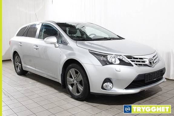 Toyota Avensis 1,8 147hk Adv InBusiness 2.0 M-drive S Keyless-Navi-Bluetooth-Cruise-Delskinn