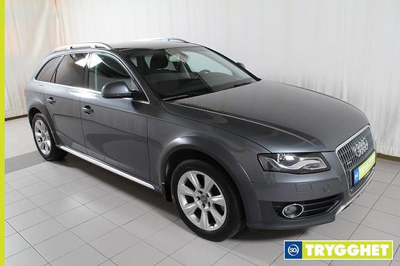 Audi A4 2,0 TDI 143 hk quattro bluetooth,navigasjon,dab,ryggesensorer bak