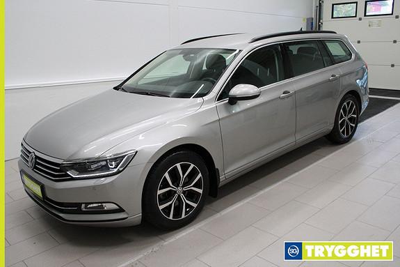 Volkswagen Passat 1,6 TDI 120hk Comfortline ,LED,webasto,DAB+,parksensorer,tlf,cruise,krok,