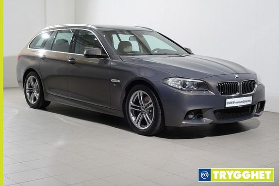 BMW 5-serie 520d xDrive Touring 163hk Automat M-Sport/NaviProff/Skinnseter/Ryggekamera/El.krok