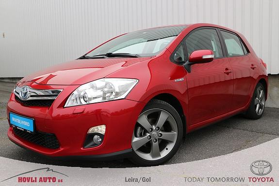 Toyota Auris 1,8 Hybrid E-CVT Executive , Velholdt bil, nybilgaranti , Navi m/ryggekamera ,  2012, 46500 km, kr 179000,-