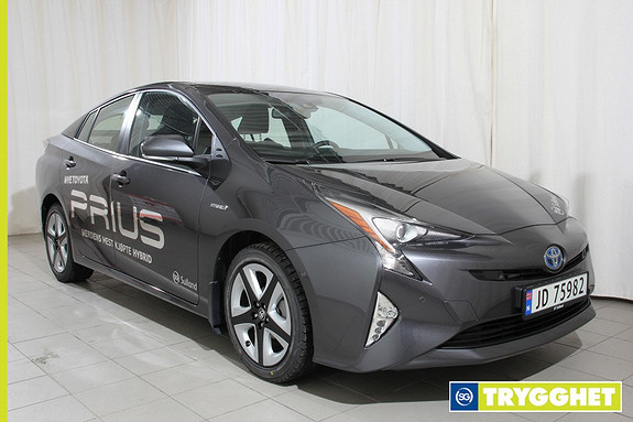 Toyota Prius 1,8 VVT-i Hybrid Executive Navi,ryggekamera,cruice med bremsefunksjon,head up,