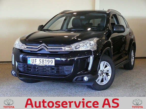 Citroën C4 Aircross HDi 115 Nordic Edition 4WD NB: SELGES FOR KUNDE, MEGET PEN BIL  2013, 84000 km, kr 254000,-