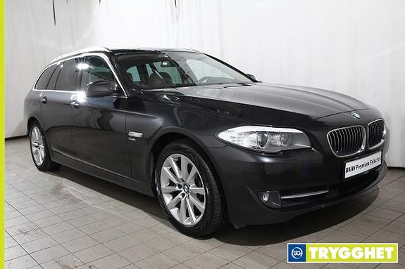 BMW 5-serie 525d xDrive Touring (218hk) Automat SKINN-NAVI-HEADUP-PANO-el.bakl-komf.seter-fj.lysass-HiFi-Ad.BiXenon-Mye utstyr