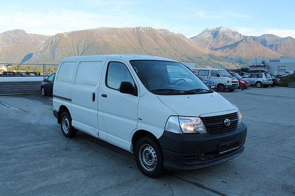 Toyota HiAce D-4D 5-d 95hk  2007, 153500 km, kr 99000,-