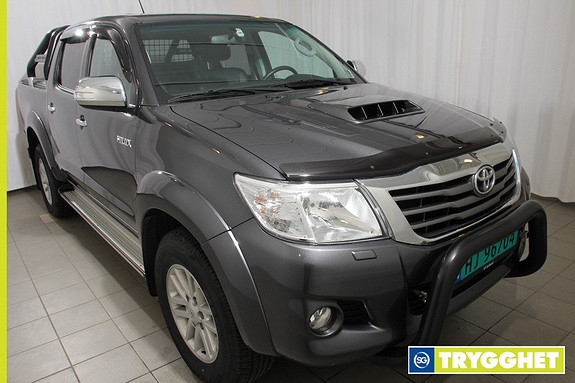 Toyota HiLux D-4D 171hk D-Cab 4WD SR+ Aut Demobil, toppmodell med mye Arctic tilbeh�r