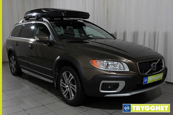 Volvo XC 70 2,4D AWD 163 hk Summum aut Navigasjon, skinninteri�r,automat, skiboks meget pen bil