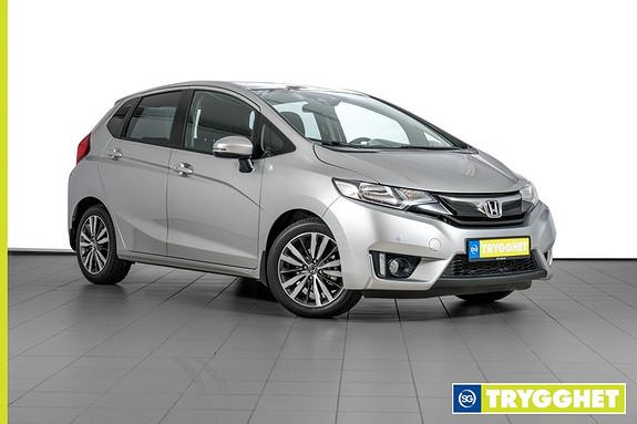 Honda Jazz 1,3 Elegance ADAS navi CVT -AUTOMAT-CRUISE-KLIMA-RYGGEKAMERA-USB-DAB-BT-PARKSENSORER