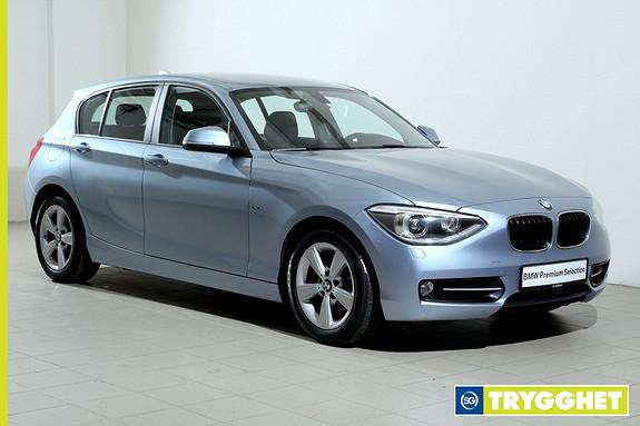 BMW 1-serie 116d EfficientDynamics Norsk-Sportline-Bluetooth-DAB-BiXenon-Sportsseter-PDC-Cruise