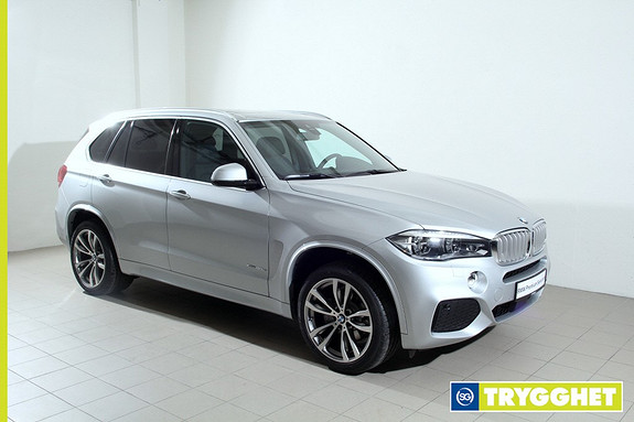 BMW X5 xDrive40e iPerformance 313hk -Mpakke-NaviPro-HeadUp-LED-DAB+-Adaptiv Cruise-Panorama+++