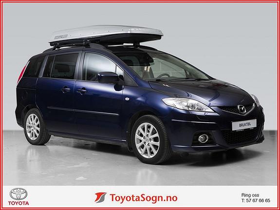 Mazda 5 2.0 D 110hk Advance  2009, 118902 km, kr 130000,-