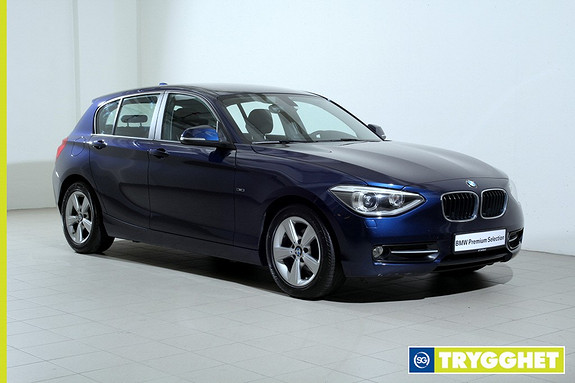 BMW 1-serie 116d ED-Norsk-SportLine-DAB-Blueooth-Sportsseter-BiXenon-PDC-cruisecontrol-99g/km
