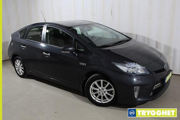 Toyota Prius 1,8 VVT-i Plug-in Hybrid Premium Adaptiv cruisecontroll, skinnseter, DAB, IPA +++