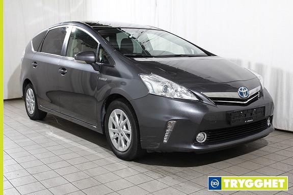 Toyota Prius+ Seven 1,8 VVT-i Hybrid Executive Bluetooth-Ryggekamera-7 seter-Panoramatak