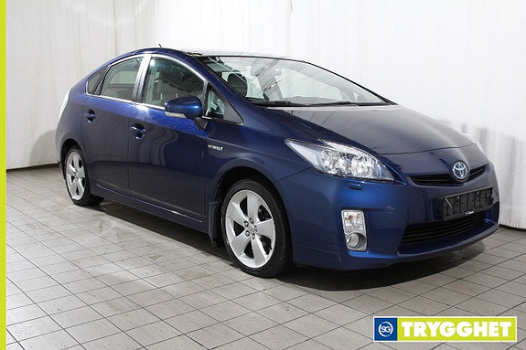Toyota Prius 1,8 VVT-i Hybrid Premium Skinn-Keyless-Pre-Crash-LED-Glasstak-Adapt. cruise-Lav km