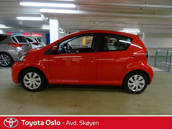 Toyota Aygo 1,0 + 5-d  2013, 16000 km, kr 99900,-