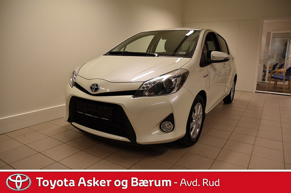 Toyota Yaris 1,5 Hybrid Active S e-CVT  2013, 49200 km, kr 159000,-