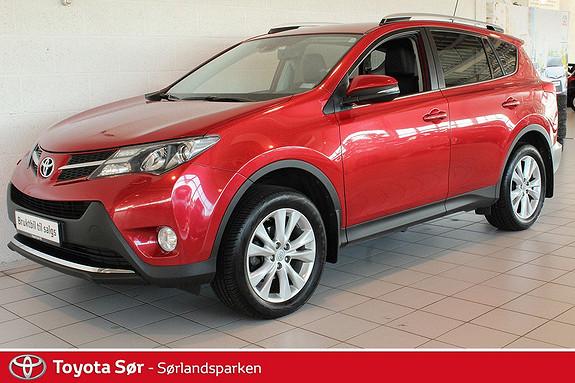 Toyota RAV4 2,2 D-4D 4WD Exective Komplett servicehefte, hengerfeste- GRATIS FRAKT OG LEVERING!  2013, 100000 km, kr 335000,-