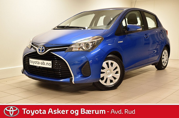 Toyota Yaris 1,5 Hybrid Active e-CVT Navigasjon  2015, 56000 km, kr 179000,-