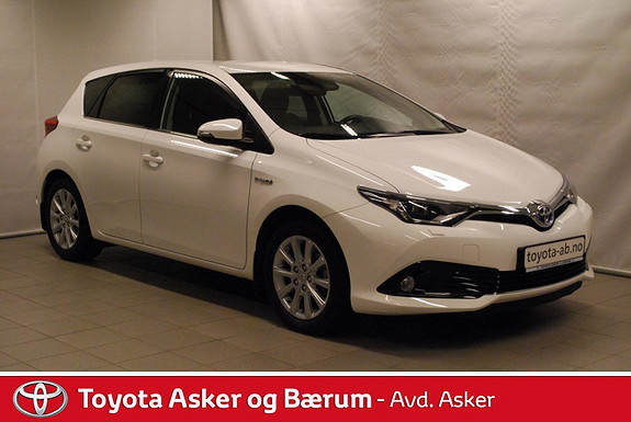 Toyota Auris 1,8 Hybrid E-CVT Style RENTEKAMPANJE 2,95%  2015, 21200 km, kr 259000,-