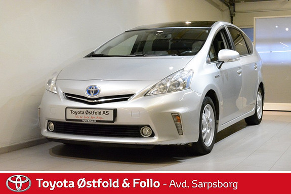 Toyota Prius+ Seven 1,8 VVT-i Hybrid Executive  2013, 276500 km, kr 148000,-