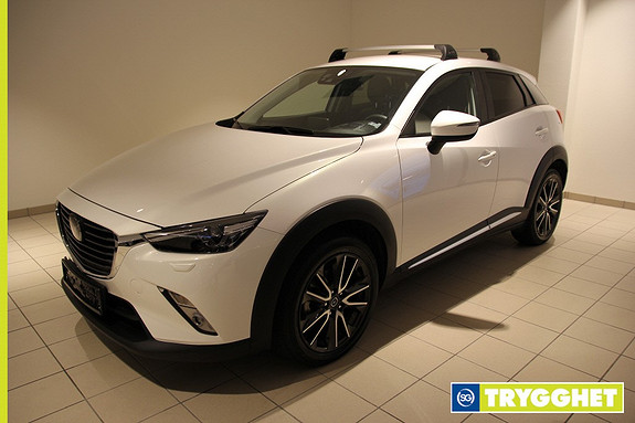 Mazda CX-3 2,0 150hk Optimum AWD aut Navi,Bose,Ryggekamara,skinn,18