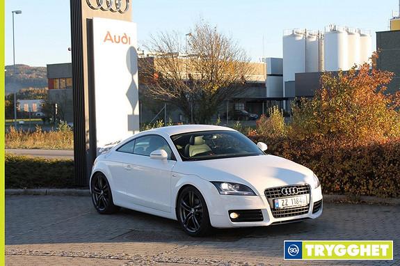 Audi TT Coupé 1,8 TFSI Dobbel S Line, Xenon Plus, cruise, delskinn, 8 alu.felger, sportsseter++