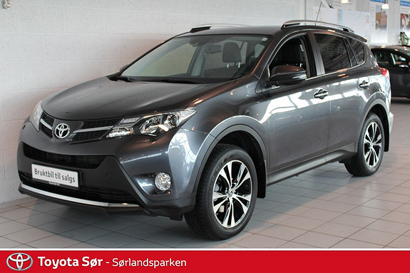 Toyota RAV4 2,0 4WD Executive aut - GRATIS FRAKT OG LEVERING!  2015, 21000 km, kr 419000,-