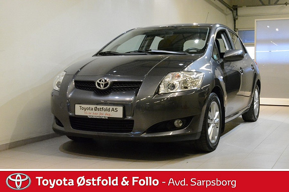 Toyota Auris 1,6 Sol  2009, 63600 km, kr 128000,-