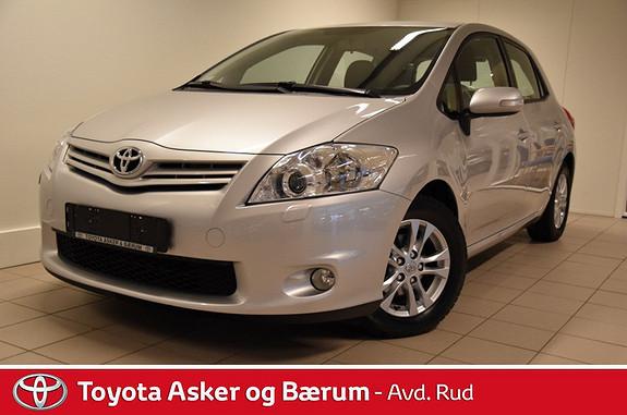 Toyota Auris 1,33 Dual VVT-i  Silver-Edition  2012, 66000 km, kr 145000,-