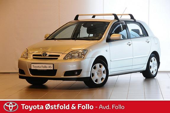 Toyota Corolla 1,4 Sol El-Klima Hengerfeste  2005, 137646 km, kr 75000,-