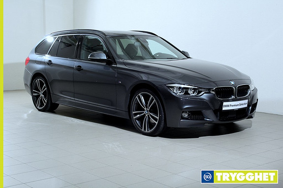 BMW 3-serie 320d xDrive Touring 190hk 100 Edition aut -Mpakke-Navi-HeadUp-HK-ActiveCruise-DAB+