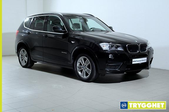 BMW X3 xDrive20d 163hk Automat -Mpakke-NaviPro-Hengerfeste-DAB+-Adaptive Xenon-Hengerfeste++