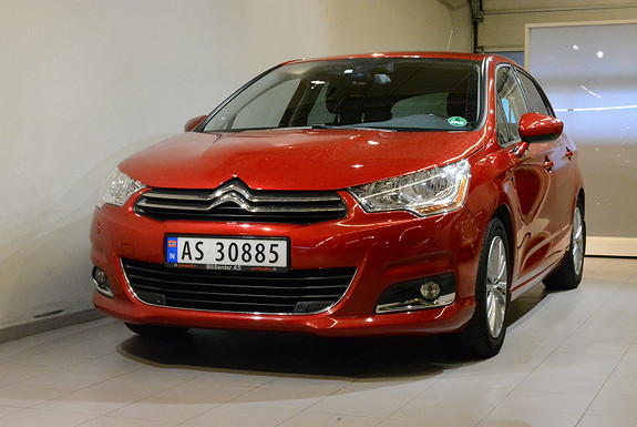 Citroen C4 Exclusive  2012, 72 300 km, kr 125 000,-