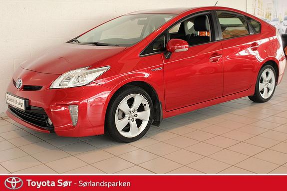Toyota Prius 1,8 VVT-i Hybrid Advance - GRATIS FRAKT OG LEVERING!  2013, 70000 km, kr 179000,-