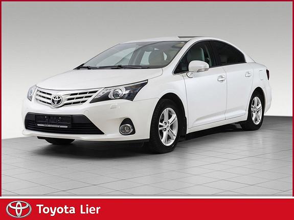 Toyota Avensis 1,8 147hk Exec. InBusiness 3.0 M-drive S Mye utstyr, flott lyst skinn  2013, 48219 km, kr 249000,-