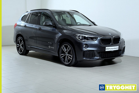 BMW X1 xDrive18d 150hk 100 Edition aut -Mpakke-Navi-ActiveCruise-HeadUp-Hifi-Led-DAB+-Kamera++