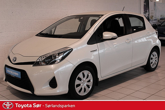 Toyota Yaris 1,5 Hybrid Active GRATIS FRAKT OG LEVERING!  2013, 45000 km, kr 175000,-