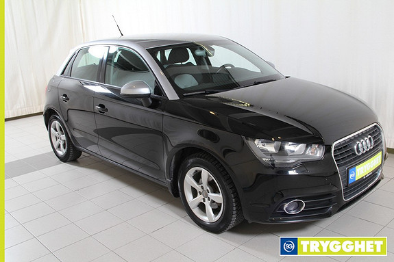 Audi A1 Sportback 1,2 TFSI Ambition Dab+,AUX-inngang,ryggesensorer,bluetooth