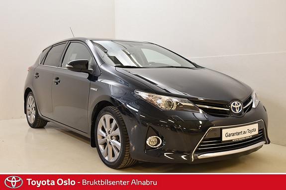 Toyota Auris 1,8 Hybrid E-CVT Executive DAB+, Park sensor, Naxi,  2013, 66303 km, kr 224900,-