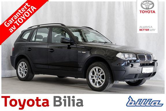 BMW X3 2,5 I A hengerfeste, skinn, klima  2004, 216917 km, kr 139000,-
