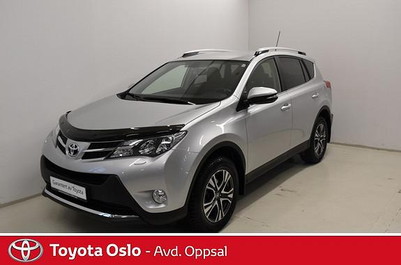 Toyota RAV4 2,0 D-4D 4WD Executive , Hengerfeste,  2014, 17500 km, kr 359900,-
