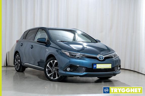 Toyota Auris 1,8 Hybrid E-CVT Style Sikkerhetspakke Lav kilometer Demobil