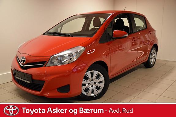 Toyota Yaris 1,33 Active  2013, 32000 km, kr 159000,-